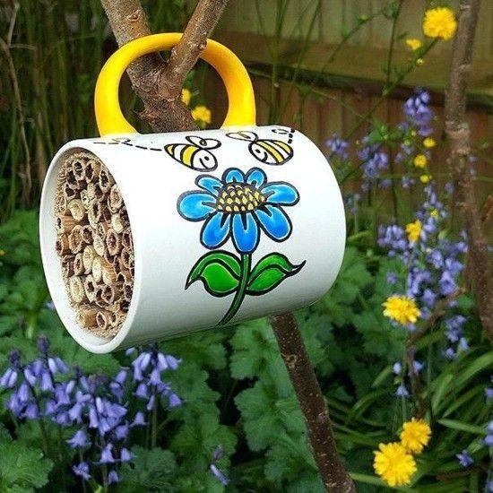 Upcycling Gartendeko selber machen - 70 ganz einfache Gartenideen mit WOW-Effekt #gartenupcycling