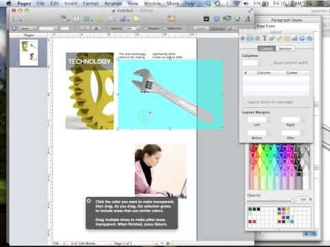 Using Apple's Pages App for Mac Lesson 1 | Teach Me