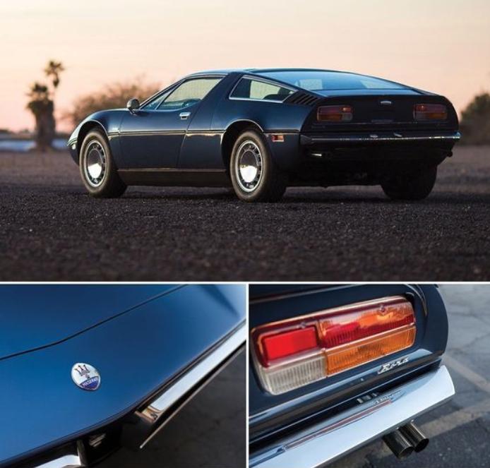 1975 Maserati Bora 4.9 - sturm und drang design ...