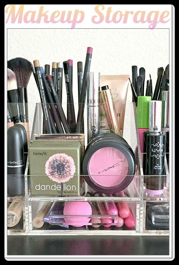 makeup storage containers ebay Makeup storage, Makeup