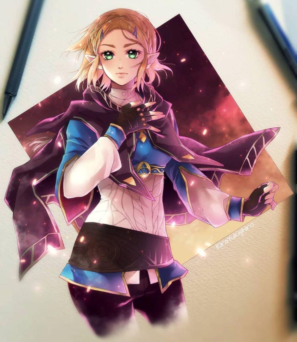 Dessin Zelda Breath Of The Wild 2 Par La Mangaka De Scarlet Soul Dessin Zelda La Legende De Zelda Dessin
