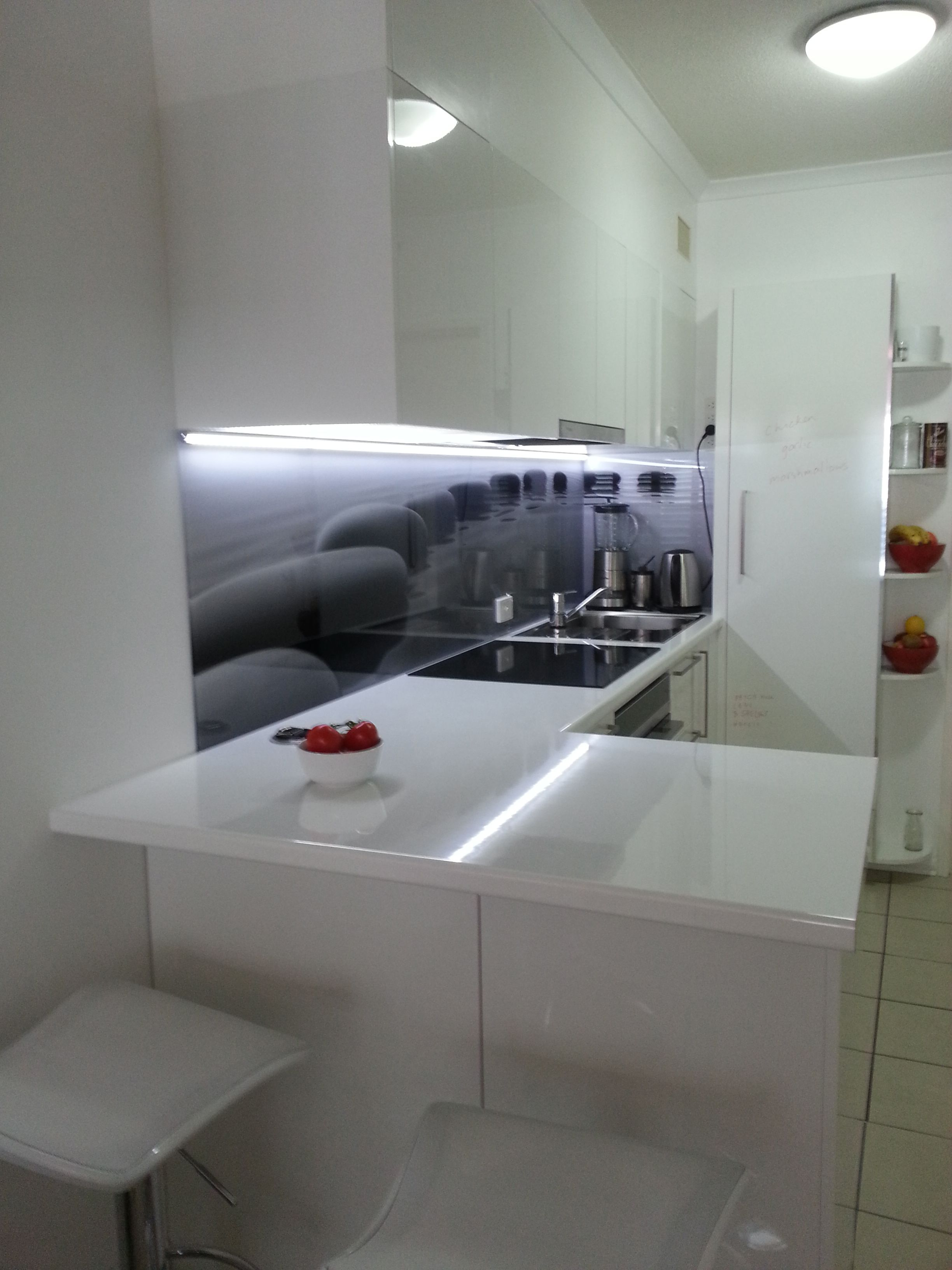Great Indoor Designs #kitchens #glass #splashbacks | Cabinets Online ...