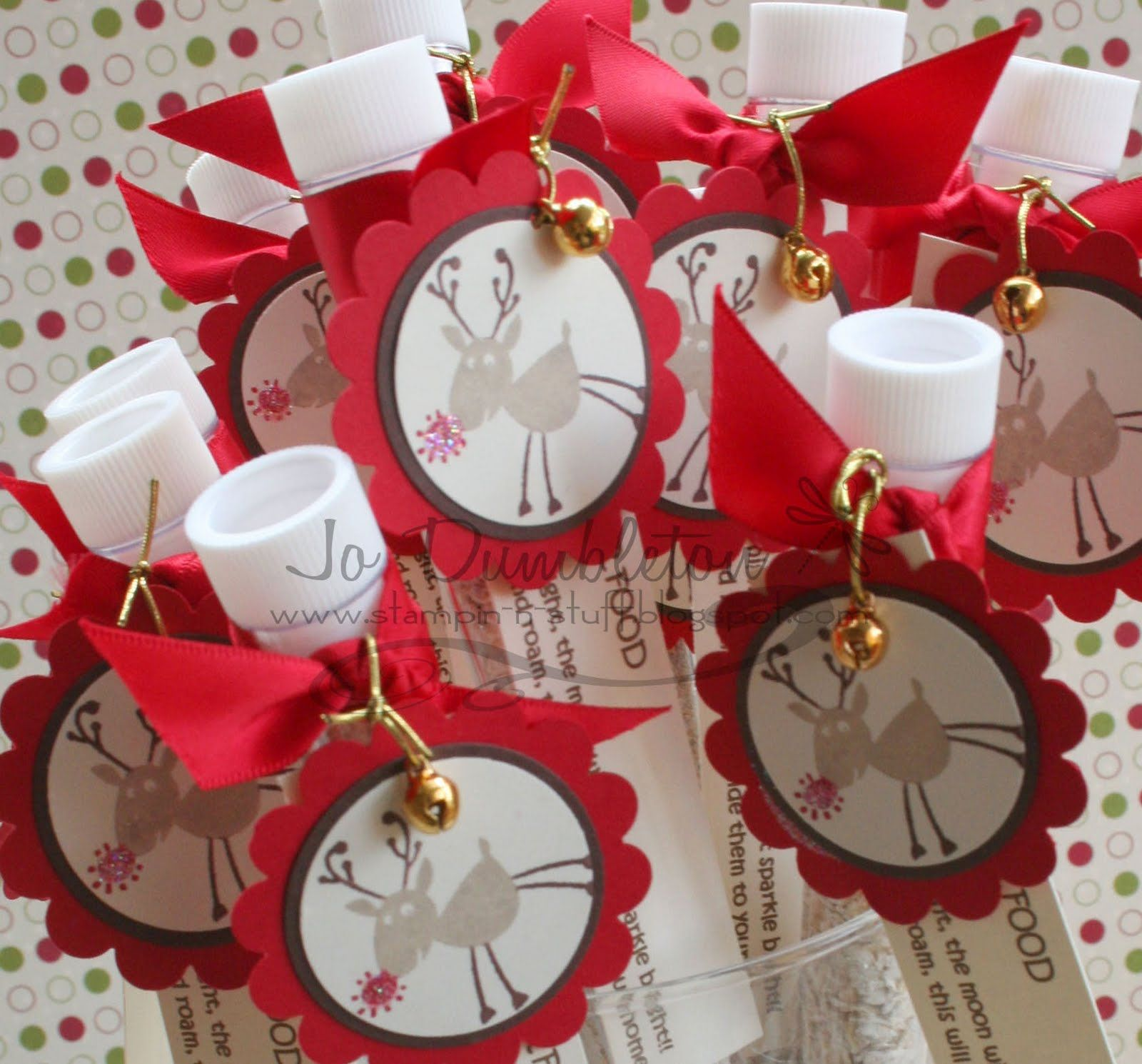 Beautiful Christmas Crafts Ideas To Sell Part - 4: Craft Ideas To Sell | Stampin U0027n Stuff: Magic Reindeer Food