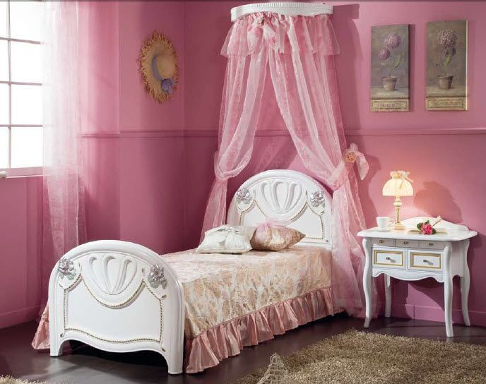 Princess Canopy Beds For Girls & toddler bed canopy | kids canopy bed u2013 kids canopy beds ebay ...