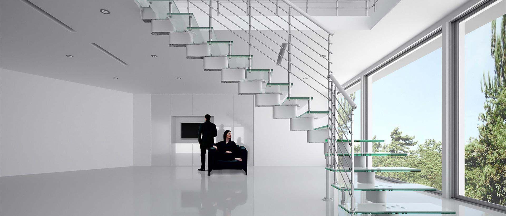 Mobirolo scale interni scaleinterne for Scale per librerie in legno