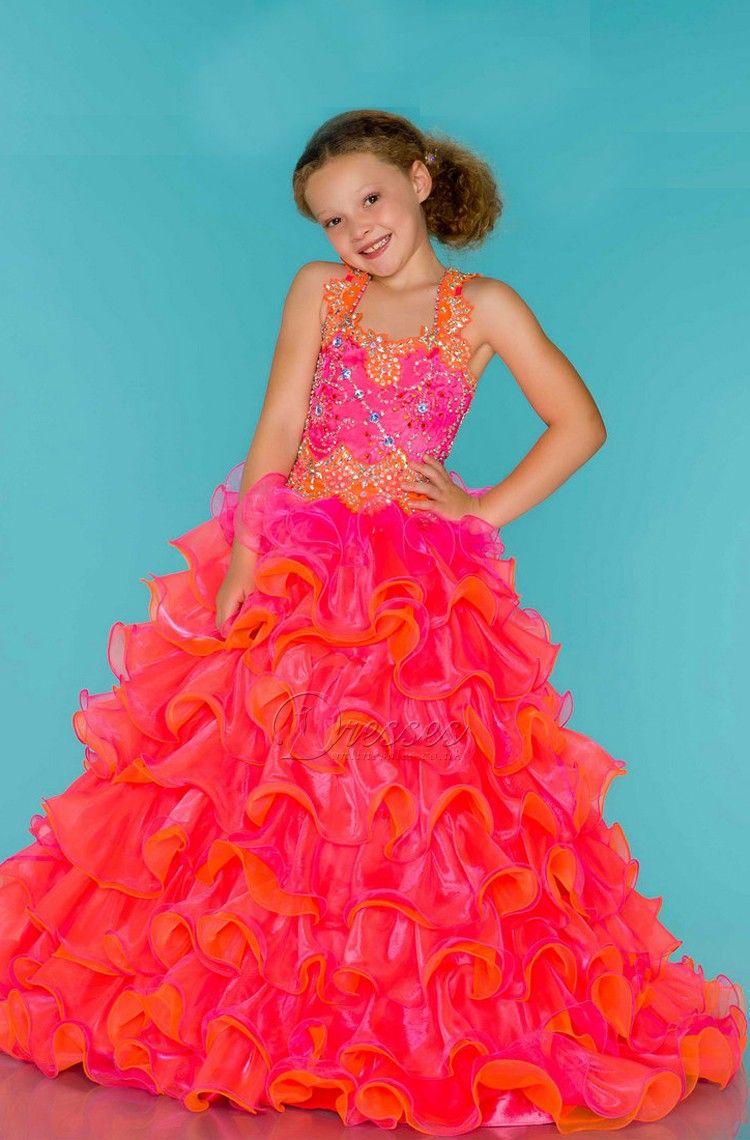 kids junior prom dress ball gown new flower girl | My PROM ...