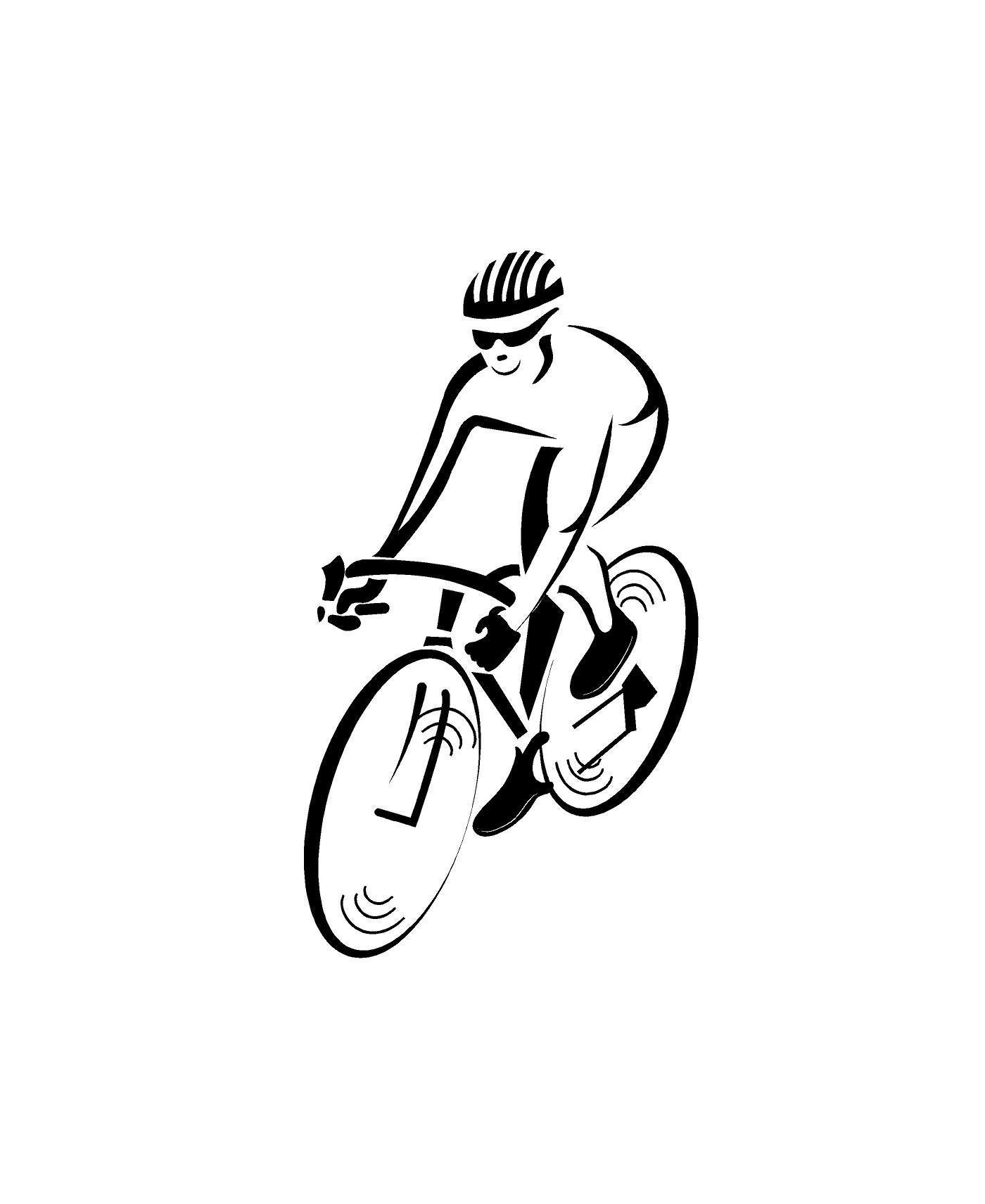 Excited To Share This Item From My Etsy Shop Cyclist Decal Car Decal Auto Vehicle Window Decal Sticker Bicycle Dec Custom Vinyl Decal Bike Rider Custom Vinyl [ 1711 x 1400 Pixel ]