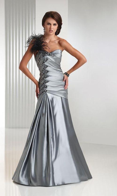 Silver Wedding Dresses 2011 8 | yellow | Pinterest