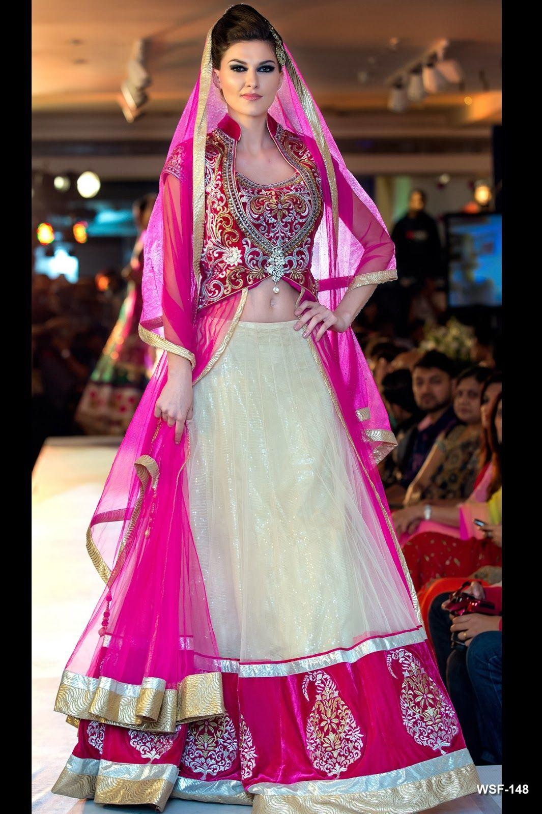 Neerus Fashion Show Collection - Finest combination #lehenga #choli