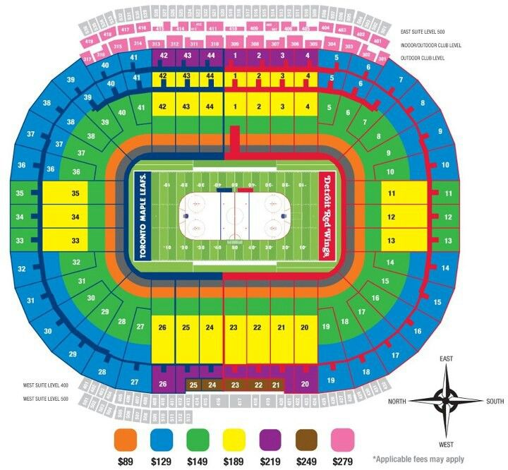 Seating Map Of The Big House Michigan Football Seating Charts Michigan