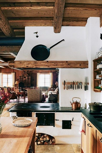 Kitchen Kitchens, Alpine chalet and Cabin - einrichtungsideen mobel chalet stil