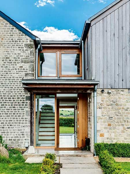 Best Old Cottage Extension Glazed Link Staircase Exterior House Pinterest Cottage Extension 640 x 480