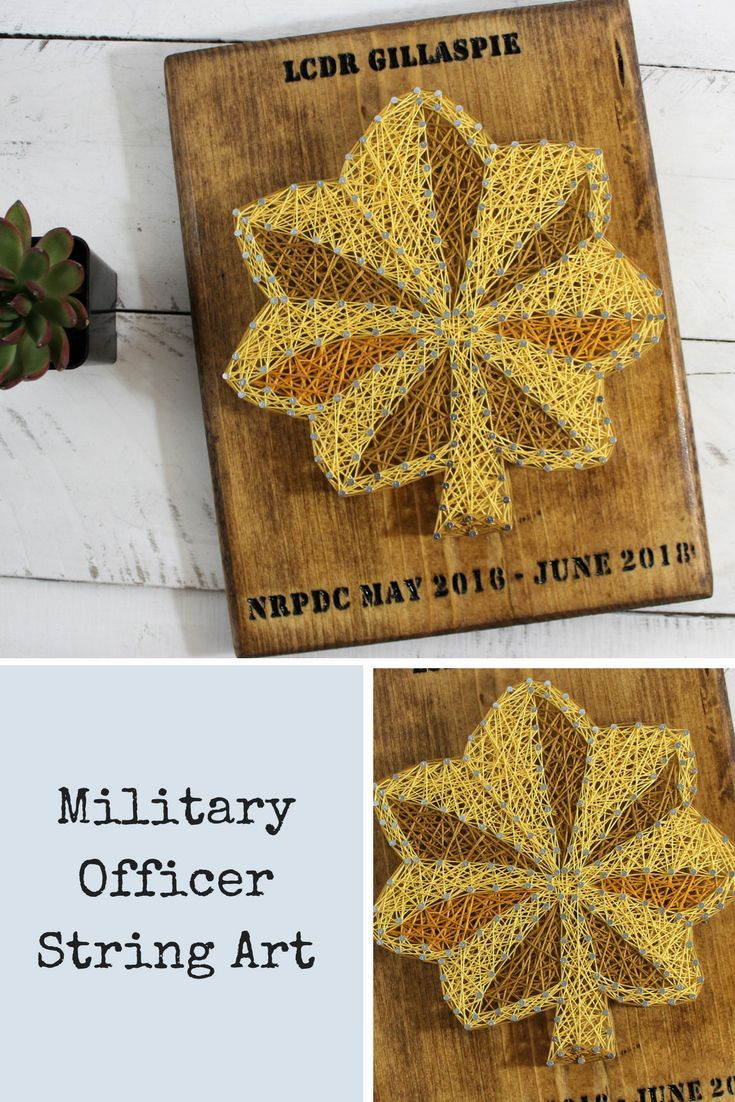 Military Officer Retirement Rank String Art Sign-Air Force-US Navy ...