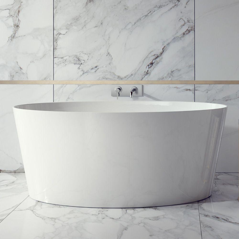 Ramsden & Mosley Bute 1595 Modern Freestanding Bath | Freestanding ...