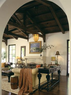 Los angeles mediterranean living design ideas pictures remodel and decor promis spanish colonial also best homes images in style rh pinterest