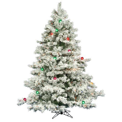 Artificial Flocked Alaskan Christmas Tre Trees Pinterest