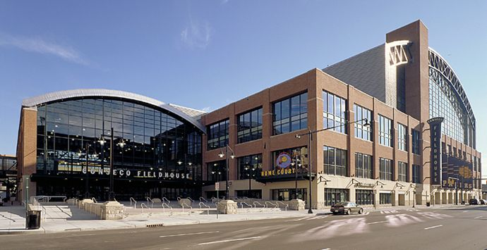 Bankers Life Fieldhouse Indianapolis In Arenas At Wheres
