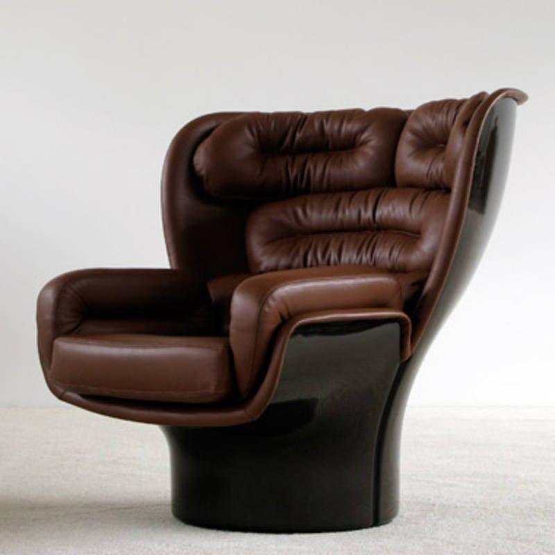Elda lounge chair joe colombo muebles furniture for Muebles en elda