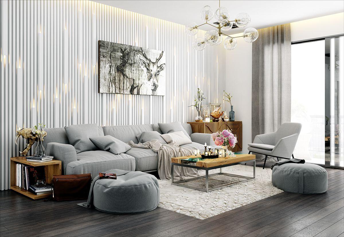 Apartment Royal city on Behance | MODERN INTERIORS | Pinterest ...