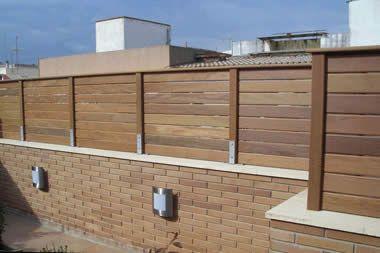 Vallas de madera 3 dise o y arquitectura - Verjas de madera para jardin ...