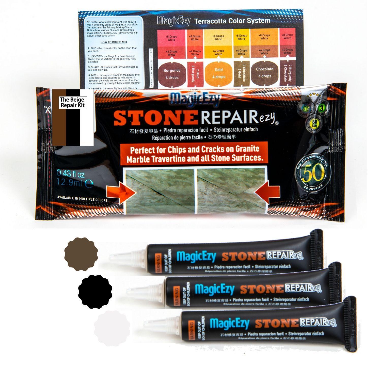Pea Stone Driveway Repair Kit With Adhesive Repair Kit For Leaking