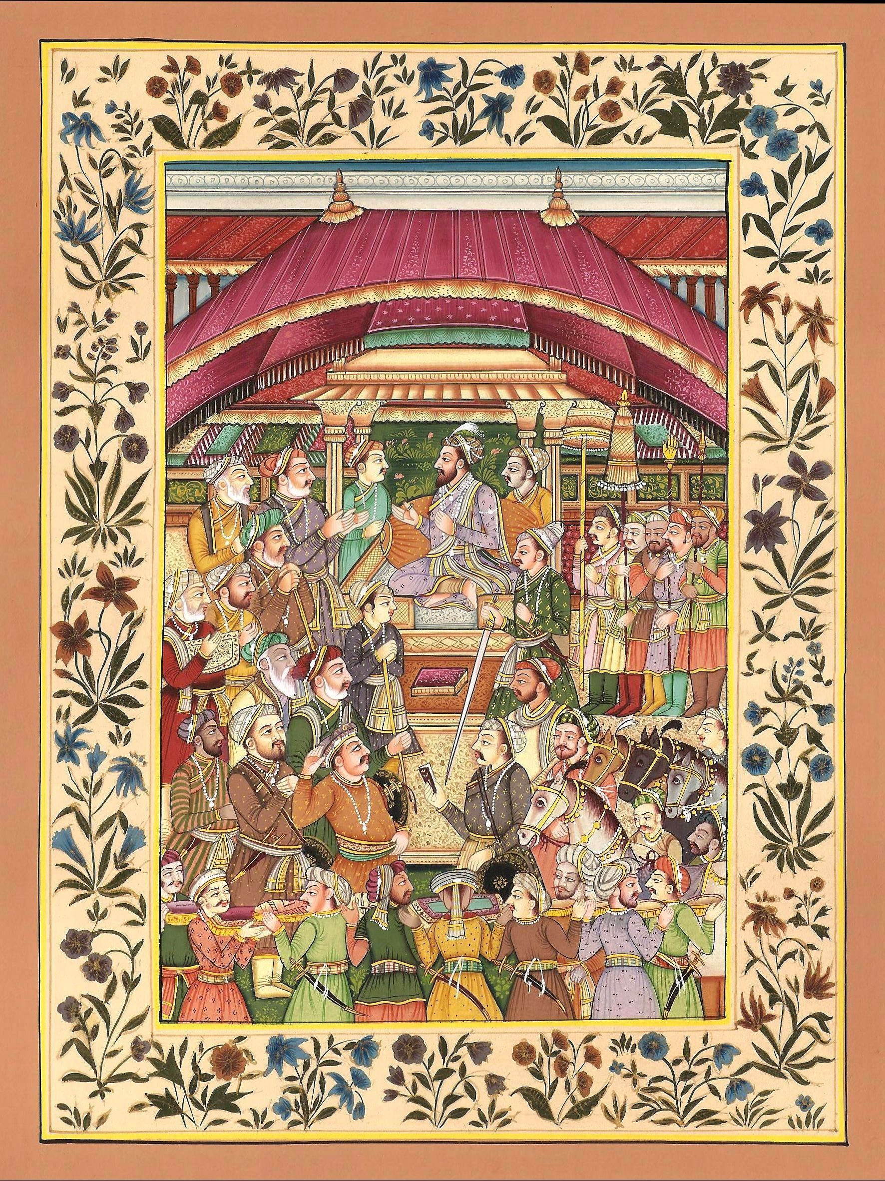 miniature paintings from the mughal era Important aspects of mughal miniature paintings mughal style and subjects: most of the miniature artists of mughal era focused their attention on depicting beauty.