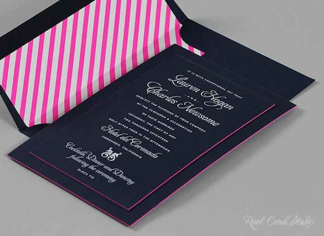 high end elegant wedding invitations from real card studio retailer