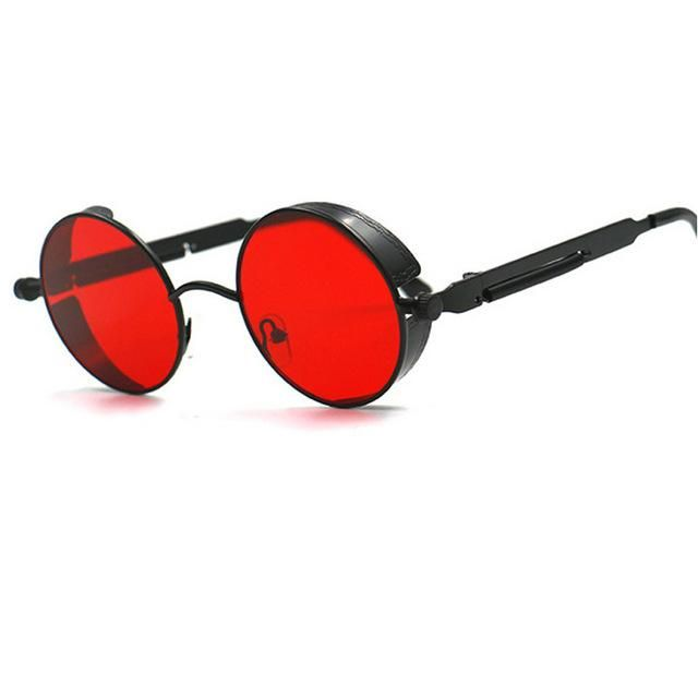 fdc455e48 Eyewear Type: Sunglasses Item Type: Eyewear Style: Round Department Name: Adult  Lenses Optical Attribute: Gradient,Mirror,UV400 Lens Width: 48mm Frame ...
