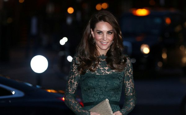 Kate Middleton Photos Photos - Catherine, Duchess of Cambridge arrives to attend the 2017 Portrait Gala at the National Portrait Gallery on March 28, 2017 in London, Britain. - The Duchess Of Cambridge Attends The Portrait Gala 2017