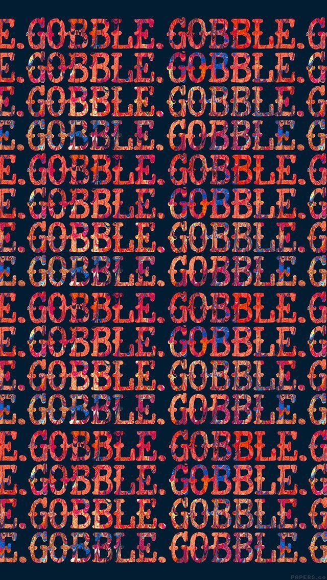 freeios8.com - al40-gobble-gobble-illust-type-design-art - http://freeios8.com/al40-gobble-gobble-illust-type-design-art/ - iPhone, iPad, iOS8, Parallax wallpapers