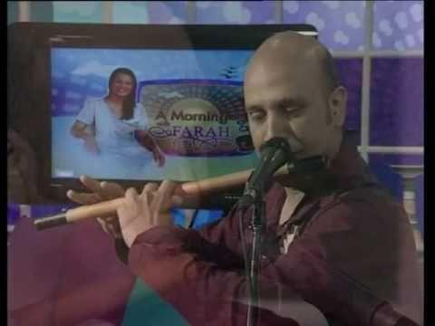 Baqir Abbass Playing Sanu Ik Pal Chain Na Ave on Bansuri - YouTube