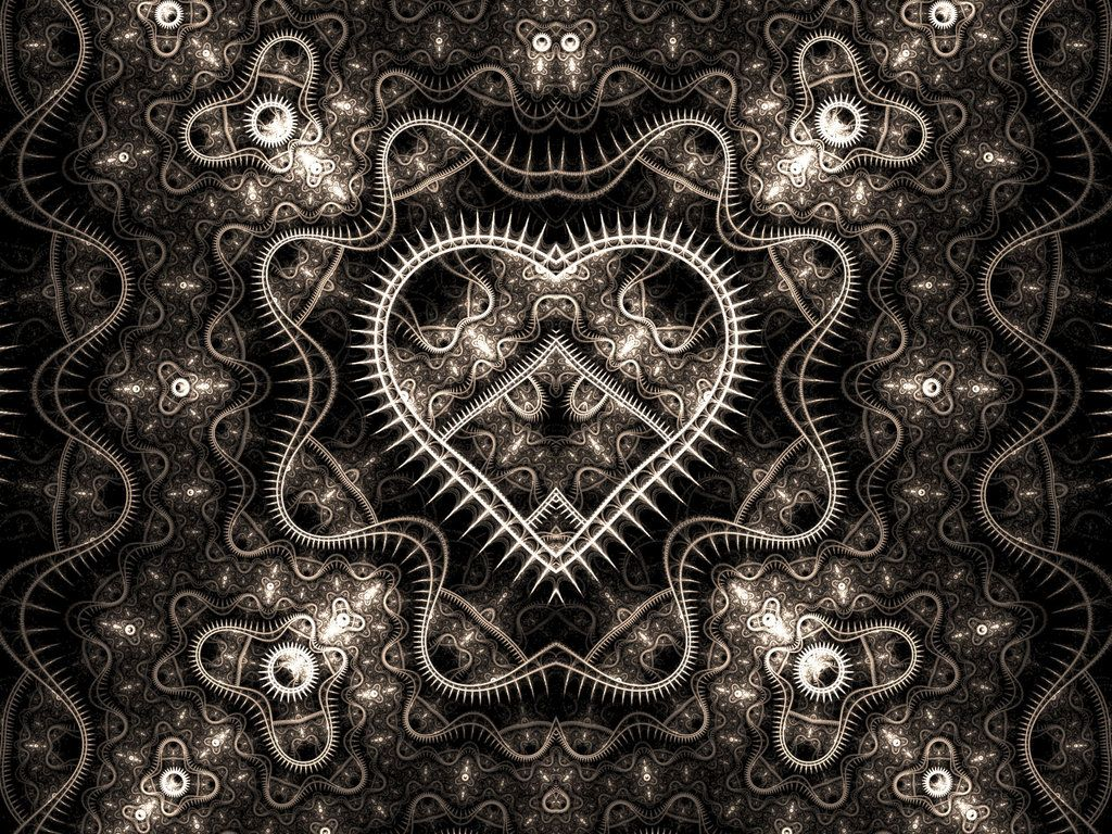 mechanical heart by shortgreenpigg fractal art fractal art