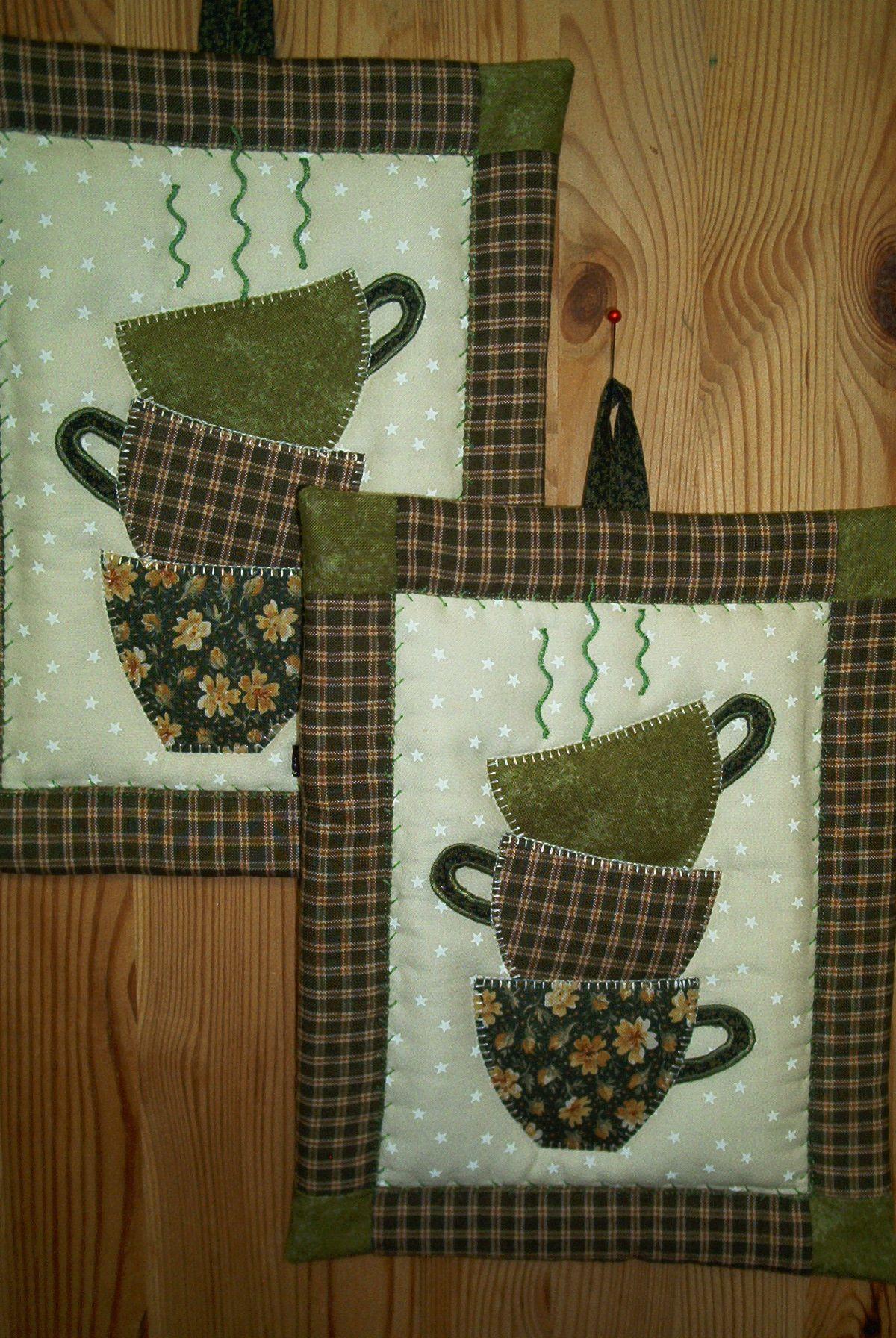 topflappen tassen anleitung n hen pinterest sewing quilts und mug rugs. Black Bedroom Furniture Sets. Home Design Ideas