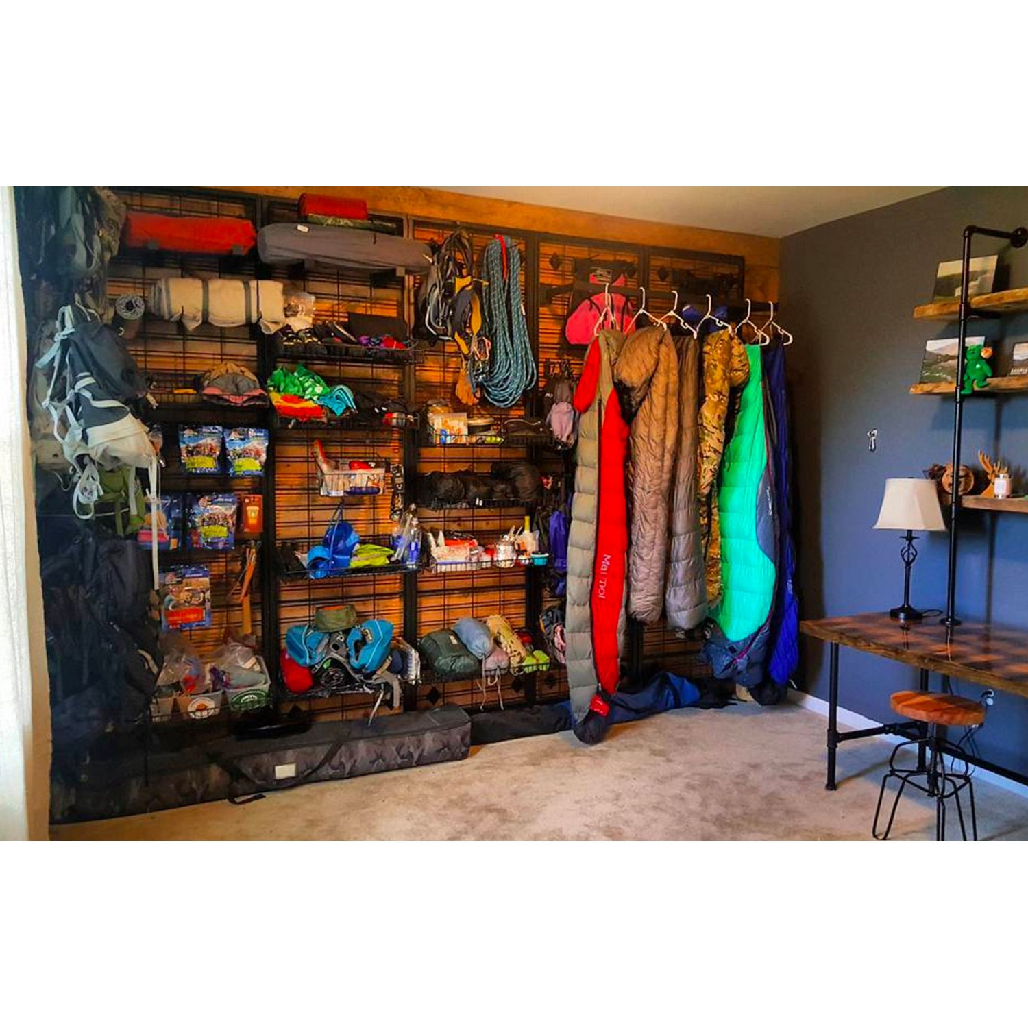 A Look Inside The Country S Raddest Gear Sheds Outdoor Gear Storage Camping Gear Storage Home