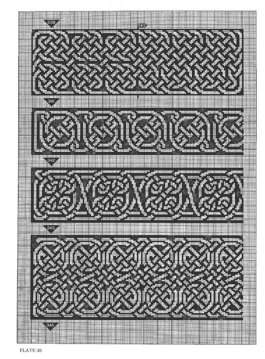 Celtic Knot Knitting Chart : Gallery celtic charted designs thabiti