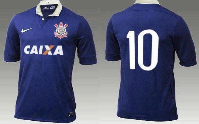 16d91ac932e16 Nova camisa 3 do Corinthians lembra dia que time representou seleção ...