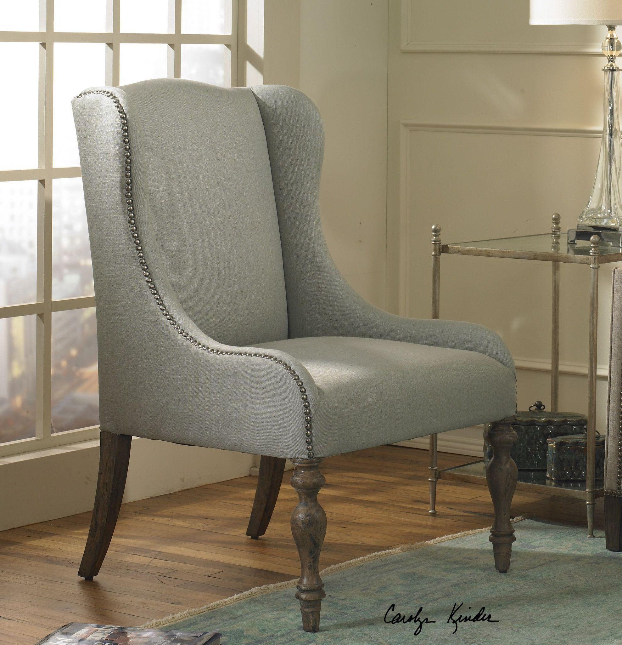 Uttermost Filon Wing Chair: Buy Uttermost UTT-23120 Filon Wing Chair
