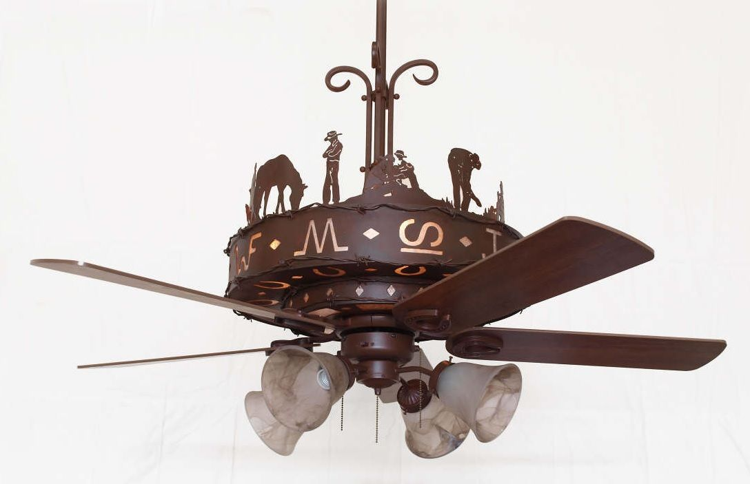 Western Trails Ceiling Fan