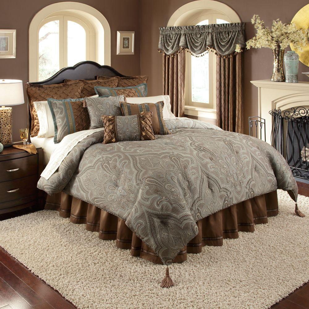 Veratex valverde 4 piece comforter set for Best deals on bedroom sets