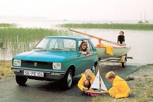40 Jahre Peugeot 104: Der kleine Franzose für große Pläne | 40 jahre ...