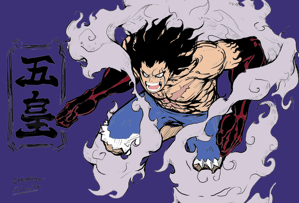 Gear 5 luffy ternyata manifestasi dewa matahari, bagaimana potensi. Gear Forth Snake Man Inkplay By Nevthestampede Manga Anime One Piece One Piece Drawing Cartoon
