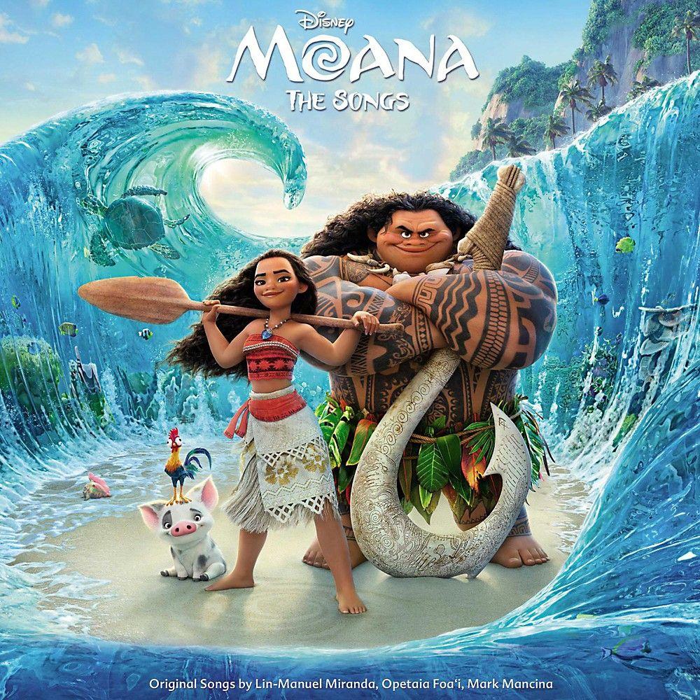Universal Music Group Various Artists Moana Original Motion Picture Soundtrack Vinyl Lp In 2021 Moana Movie Moana Poster Walt Disney Animation Studios