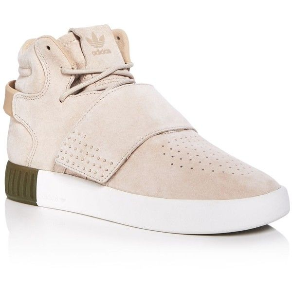 Adidas Women s Tubular Invader Strap Mid Top Sneakers (445 ILS) ❤ liked on  Polyvore featuring shoes 1b09ed31e