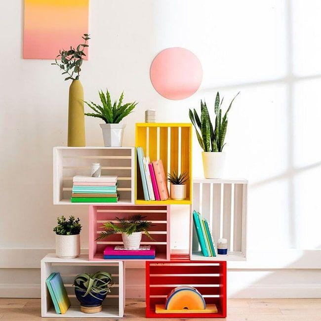 Muebles DIY con cajas