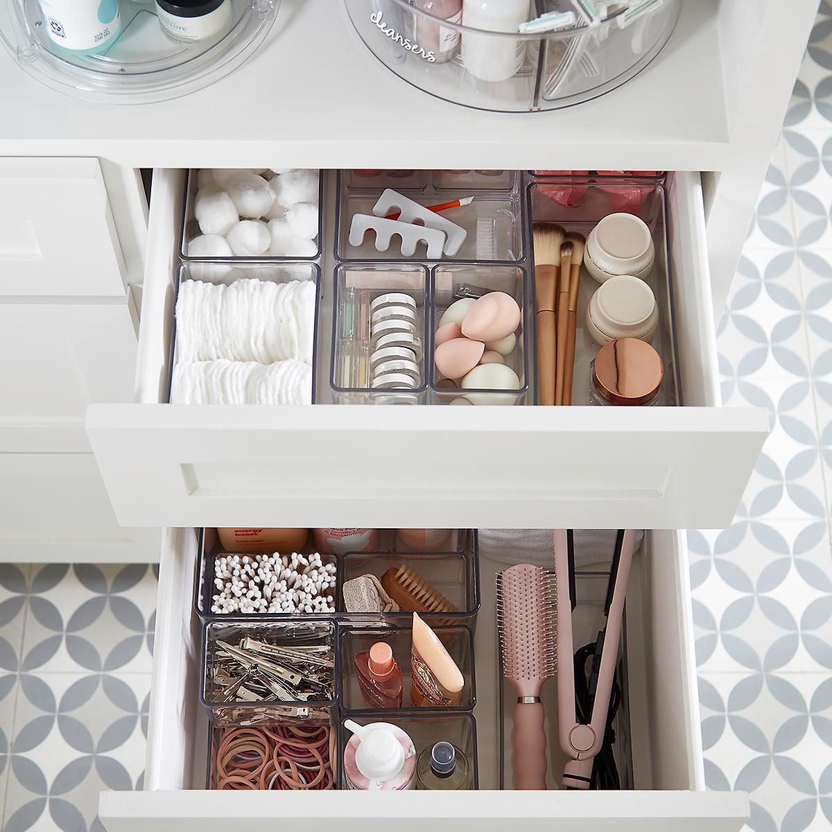 The Home Edit Organizer Bins In 2020 Bathroom Organisation Home Organization Bathroom Organization Diy