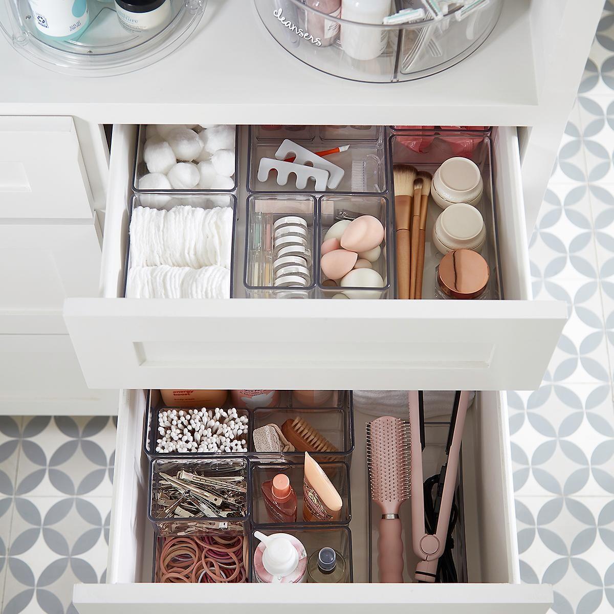 The Home Edit Organizer Bins In 2020 Home Organization Bathroom