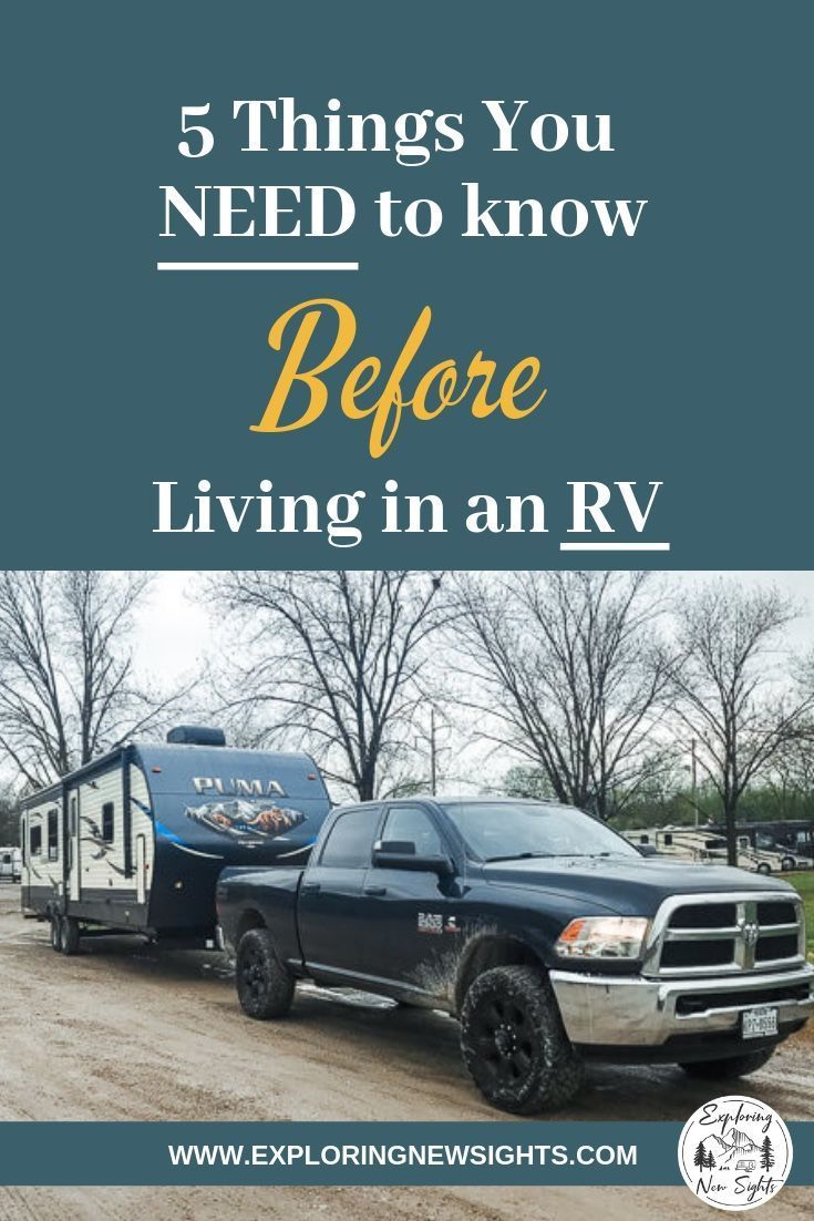 Photo of Living In An RV – Top 5 Things We Wish We Knew Before – Exploring New Sights