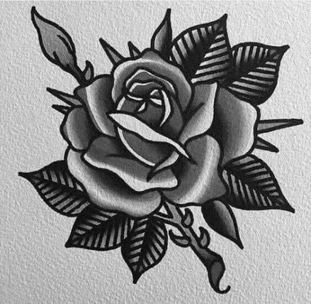 Pin By Dawn Guodace On Tattoos Traditional Rose Tattoos Neck Tattoo Black Ink Tattoos