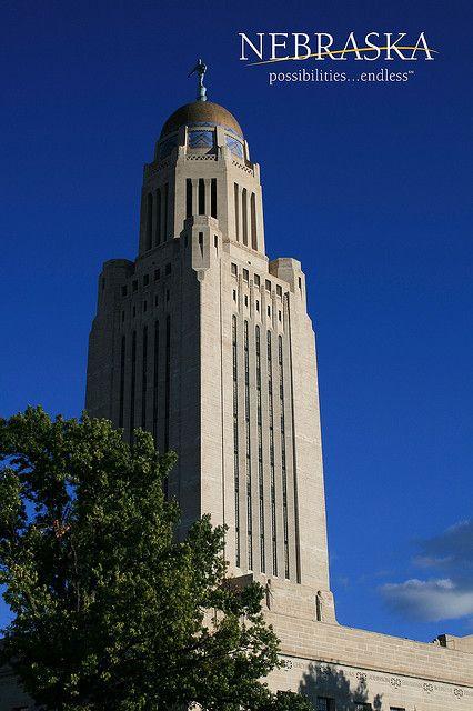 Nebraska State Capitol Nebraska Quot Go Big Red Quot Nebraska