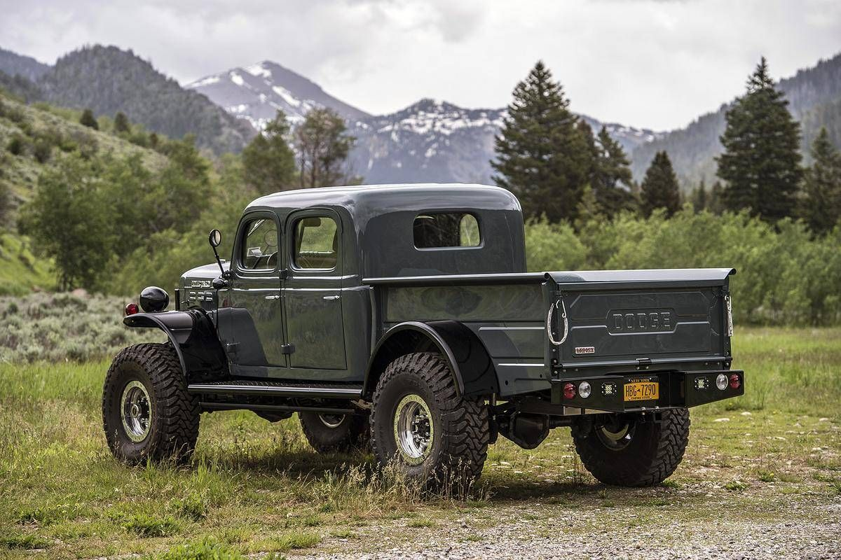1952 dodge power wagon legacy conversion for sale 1854572 hemmings motor news off road. Black Bedroom Furniture Sets. Home Design Ideas